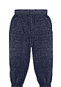Toddler Triblend Fleece Jogger Sweatpant TRI DENIM NAVY Back