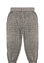 Toddler Triblend Fleece Jogger Sweatpant TRI VINTAGE GREY Back