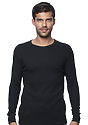Unisex Heavyweight Thermal BLACK Front