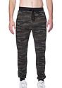 Unisex Camo Fleece Jogger Pant CAMO Front