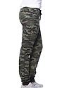 Unisex Camo Fleece Jogger Pant CAMO Front2