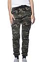 Unisex Camo Fleece Jogger Pant  Front2