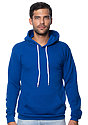 Unisex Fashion Fleece Pullover Hoodie ROYAL Front