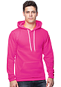 Unisex Fashion Fleece Neon Pullover Hoodie  Front