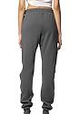Unisex Fashion Fleece Jogger Sweatpant ASPHALT Back2