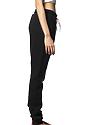 Unisex Fashion Fleece Jogger Sweatpant BLACK LaydownBack