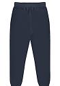 Unisex Fashion Fleece Jogger Sweatpant NAVY Back