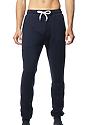 Unisex Fashion Fleece Jogger Sweatpant NAVY Front
