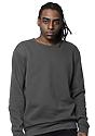 Unisex Fashion Fleece Crew Sweatshirt ASPHALT 2