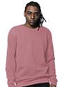Unisex Fashion Fleece Crew Sweatshirt DESERT ROSE 2