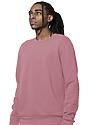 Unisex Fashion Fleece Crew Sweatshirt DESERT ROSE 3