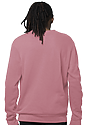 Unisex Fashion Fleece Crew Sweatshirt DESERT ROSE 4