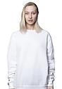 Unisex Fashion Fleece Crew Sweatshirt WHITE 5