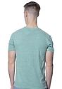 Unisex eco Triblend Short Sleeve Tee  Back