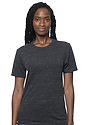 Unisex eco Triblend Short Sleeve Tee ECO TRI CHARCOAL Front2