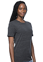 Unisex eco Triblend Short Sleeve Tee ECO TRI CHARCOAL Back2