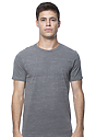 Unisex eco Triblend Short Sleeve Tee ECO TRI GREY Front