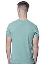 Unisex eco Triblend Short Sleeve Tee ECO TRI KELLY Back