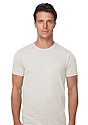 Unisex eco Triblend Short Sleeve Tee ECO TRI NATURAL Front