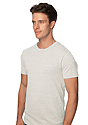 Unisex eco Triblend Short Sleeve Tee ECO TRI NATURAL Side