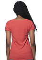 Women's eco Triblend Scoop Neck ECO TRI TRUE RED Back