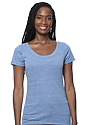 Women's eco Triblend Scoop Neck ECO TRI ROYAL Front