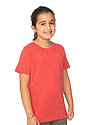 Youth eco Triblend Short Sleeve Tee ECO TRI TRUE RED Side