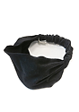 eco Triblend Jersey Multipurpose Face Mask/Headband ECO TRI BLACK Front