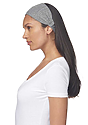 eco Triblend Jersey Multipurpose Face Mask/Headband ECO TRI GREY Front2