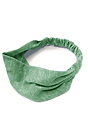 eco Triblend Jersey Multipurpose Face Mask/Headband ECO TRI KELLY Front