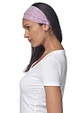 eco Triblend Jersey Multipurpose Face Mask/Headband ECO TRI PURPLE Front