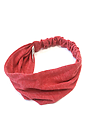 eco Triblend Jersey Multipurpose Face Mask/Headband ECO TRI TRUE RED Front