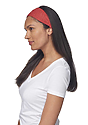 eco Triblend Jersey Multipurpose Face Mask/Headband ECO TRI TRUE RED Front2