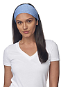 eco Triblend Jersey Multipurpose Face Mask/Headband ECO TRI ROYAL Front