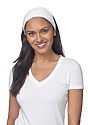 eco Triblend Jersey Multipurpose Face Mask/Headband ECO TRI WHITE Front
