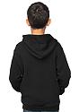 Youth Fashion Fleece Zip Hoodie  Back