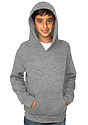 Youth Fashion Fleece Pullover Hoodie HEATHER GREY Front