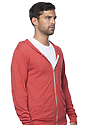 Unisex eco Triblend Jersey Full Zip Hoodie  Back