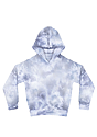 Youth Fleece Cloud Tie Dye Pullover Hoodie INFINITY Front