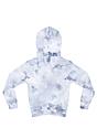 Youth Fleece Cloud Tie Dye Pullover Hoodie INFINITY Back