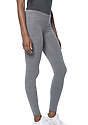 Women's eco Triblend Spandex Jersey Leggings  Side
