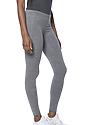 Women's eco Triblend Spandex Jersey Leggings ECO TRI GREY Side