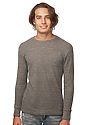 Unisex eco Triblend Heavyweight Thermal  Front