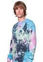 Unisex Galaxy Tie Dye Crew Sweatshirt MILKY WAY 2
