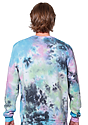 Unisex Galaxy Tie Dye Crew Sweatshirt  3