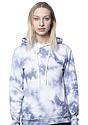 Unisex Cloud Tie Dye Pullover Hoodie INFINITY front