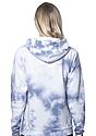 Unisex Cloud Tie Dye Pullover Hoodie INFINITY Back