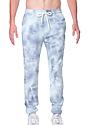 Unisex Cloud Tie Dye Jogger Sweatpant INFINITY LayDownFront