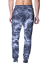 Unisex Cloud Tie Dye Jogger Sweatpant PHANTOM 3
