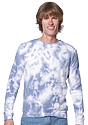 Unisex Cloud Tie Dye Crew Sweatshirt  1